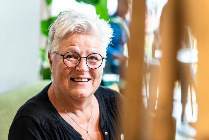 Wilma de Greef, vrijwilliger bij het hospice in Alphen