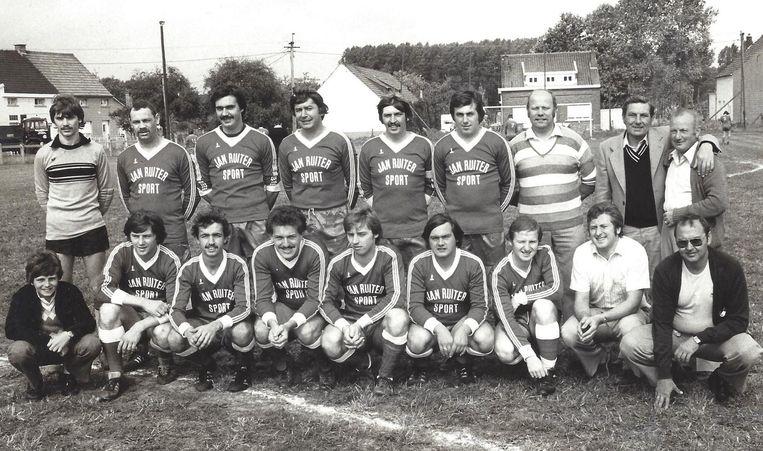 De ploeg van FC Bareel werd eind jaren '70 gesponsord door Jan Ruiter, in die periode een topdoelman bij Anderlecht en later RWDM.