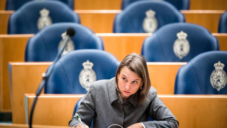 GroenLinks-informateur Laura Bromet. Beeld ANP