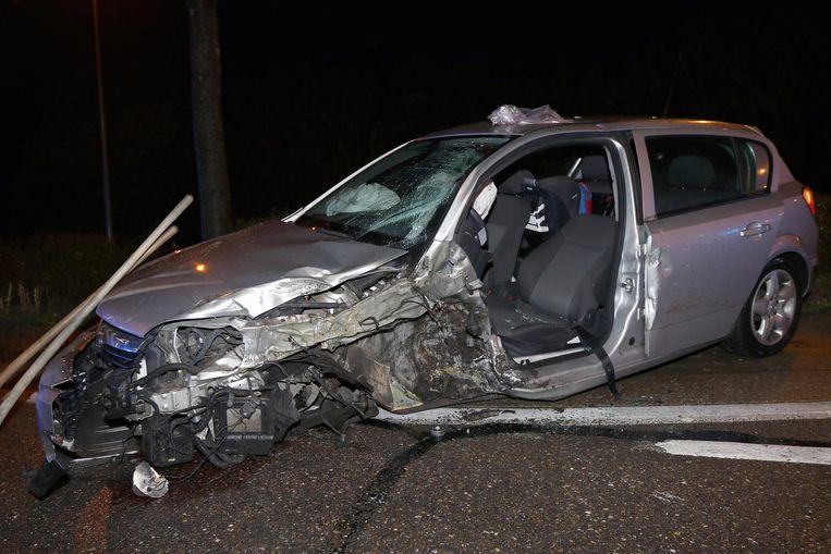 Het ongeval gebeurde op de Zuiderring ter hoogte van Toemaathoek.