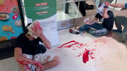 Zes gemaskerde mannen opgepakt voor brutale aanval op demonstranten Hongkong