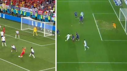 Zoek de verschillen: Januzaj scoort kopie van WK-goal, al past nieuwe treffer van Rode Duivel quasi perfect in de bovenhoek