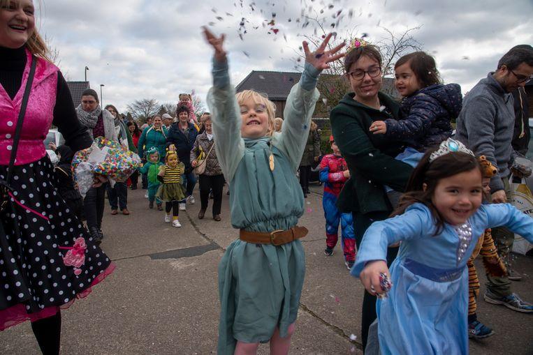 Kindercarnaval t Kleuterboompje Wetteren.