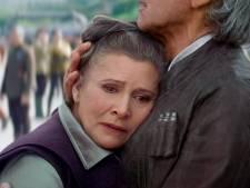 Carrie Fisher duikt postuum op in negende Star Wars-film