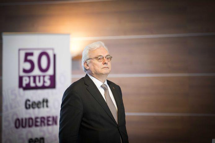Jan Zoetelief tijdens de Algemene Vergadering van 50Plus.
