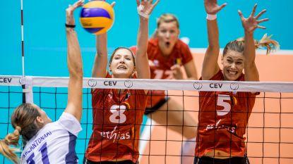 Yellow Tigers boeken twee oefenzeges tegen Bulgarije in aanloop naar EK volley 2019