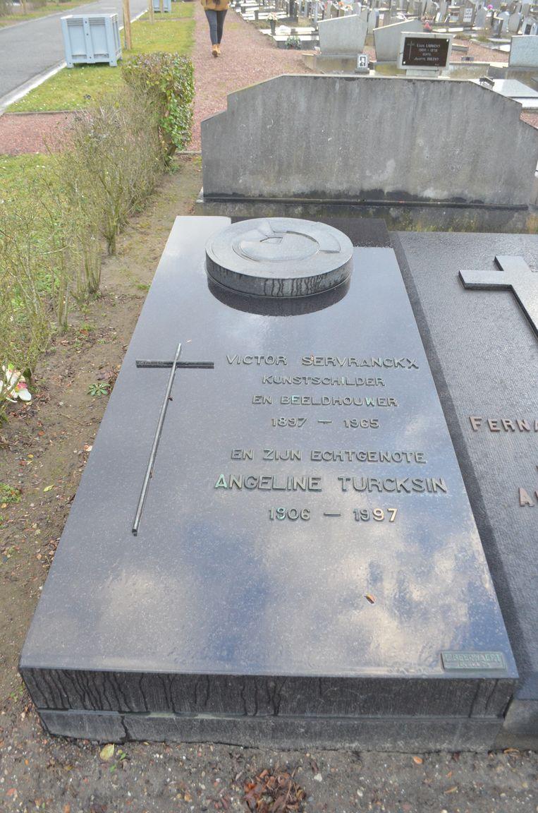 Het graf van Victor Servranckx werd voorlopig beschermd.