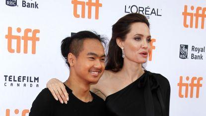 Angelina Jolie brengt zoon naar Koreaanse universiteit