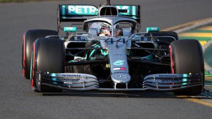 En plots blijft alles bij hetzelfde: Mercedes palmt eerste startrij in voor GP Australië, Hamilton pakt pole