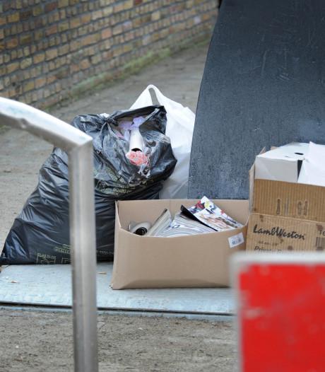 SGP: mensen van buiten Vlissingen dumpen hun afval  in de stad
