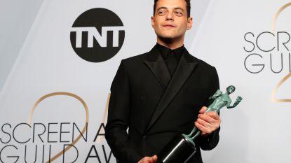 Werkloze acteur Rami Malek bezorgde pizza's met zijn cv erin