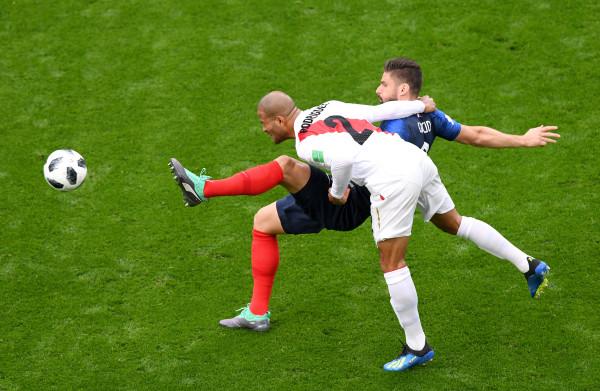**Frankrijk wint de wedstrijd maar Peru imponeert met creatief spel**