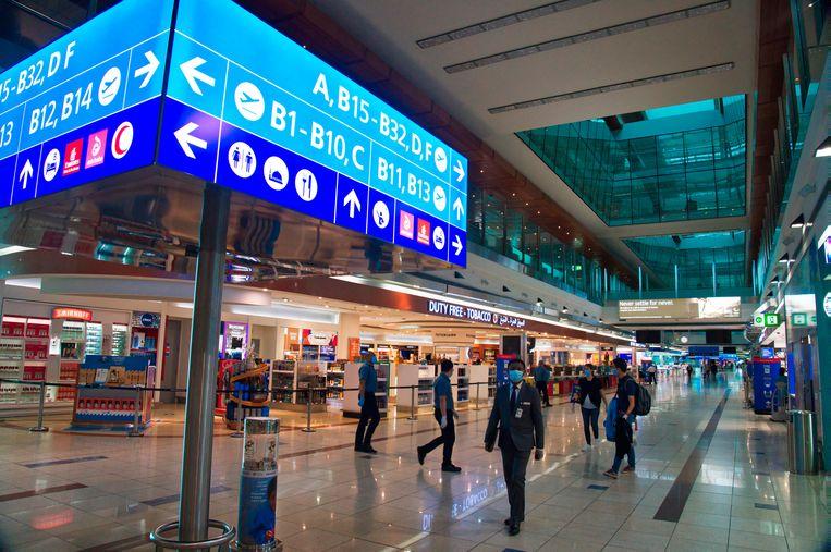 Dubai International Airport.