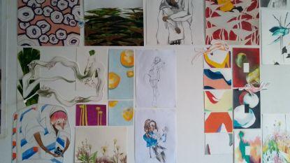 """Wie vond tekeningen die kunststudente (19) op trein verloor? : """"Nodig voor expo in 4AD"""""""
