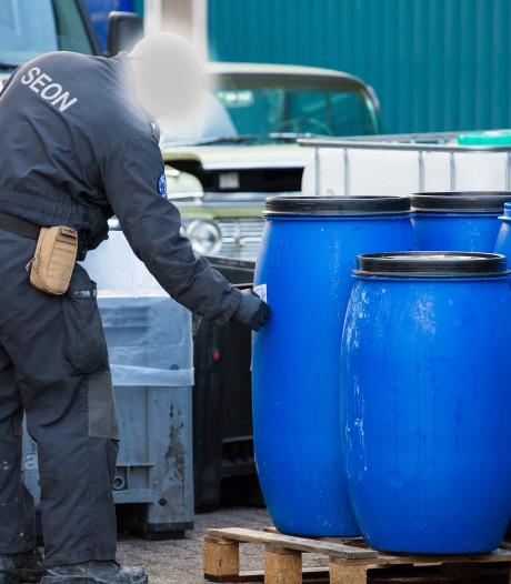 Meer drugslabs ontmanteld in Gelderland, aantal dumpingen sterk afgenomen