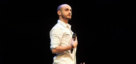 Farbod Moghaddam is winnaar van Leids Cabaret Festival