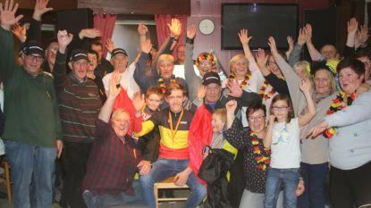 Fanclub viert Belgisch kampioen Jarno Bellens