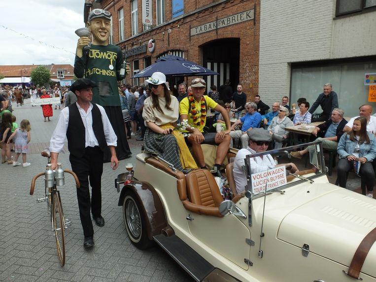 Ook Wontergem was vertegenwoordigd, uiteraard met wielerheld Lucien Buysse.
