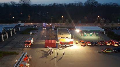 Grootse brandweeroefening op Breebos in beeld gebracht