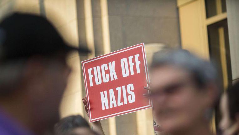 Een demonstratie in Philadelphia. Beeld afp