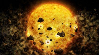 NASA zou voor het eerst glimp opgevangen kunnen hebben van ster die planeet verslindt