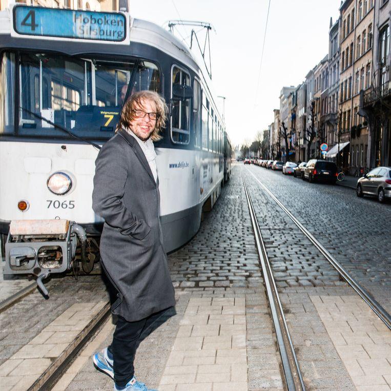 Jan Jaap van der Wal: 'Ik breng mijn ervaring als cabaretier mee, en verder probeer ik de cultuur een beetje te begrijpen'. Beeld Sander de Wilde
