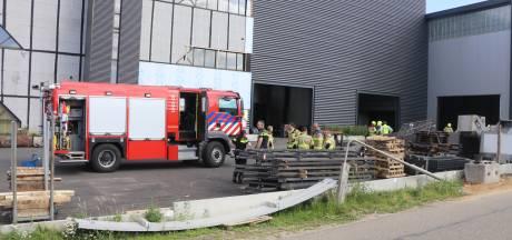 Gevaarlijke stoffen vrijgekomen op industrieterrein in Barneveld