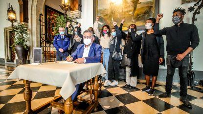 Voorpost plant manifestatie op Burg voor vermoorde blanke boeren in Zuid-Afrika, maar heeft geen toestemming