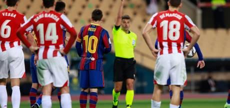 Messi krijgt milde straf na uitdelen klap, Barcelona alsnog in beroep