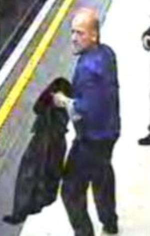L'individu est toujours recherché par la police londonienne. (Capture d'écran).