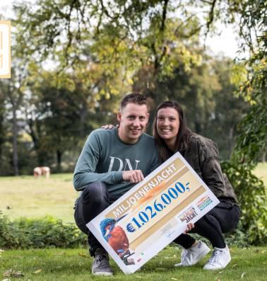 """Nederlander Pascal won 1.026.000 euro: """"Strooien met geld wil nog niet lukken"""""""