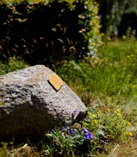 Zwerfkei voor verongelukte Jacko: 'Hij wordt in Ootmarsum en omgeving niet vergeten'