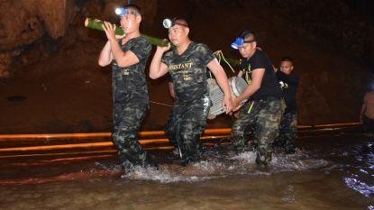Thaise grot kort na reddingsoperatie volgelopen met water