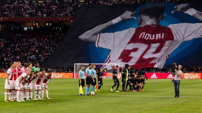 Ajax moet Champions League-droom opbergen na uiterst emotionele avond