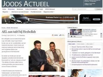 AEL eist verwijdering artikel op site Joods Actueel