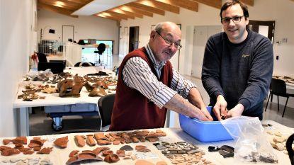 Wie helpt mee archeologische vondsten Nieuwkerke schoon te maken?