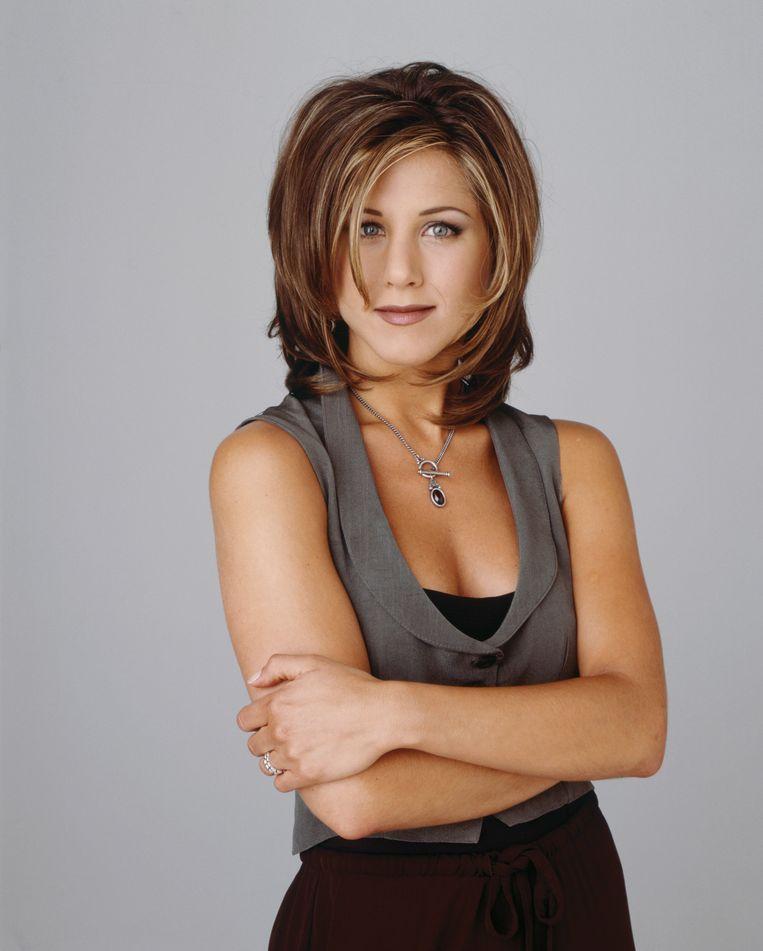 Jennifer Aniston als Rachel Green in 'Friends'.