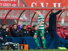 GA Eagles-verdediger Julian Lelieveld volgt laatste minuten op 'gehoor'