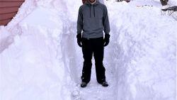 """Bilzenaar Daan Goossens na de sneeuwstorm in St. John's: """"Een boete van 5.000 dollar voor wie met de auto rijdt"""""""