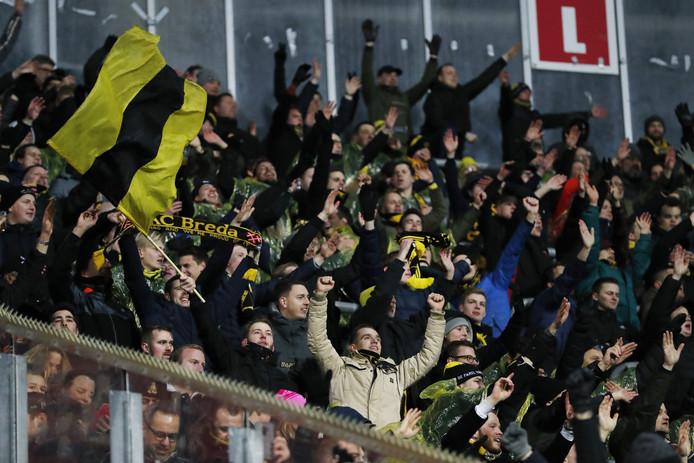 NAC-supporters zijn er gewoon ij in Leeuwarden
