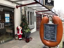 Winkeliers Heeswijk-Dinther ruimen roet en stof na aanslag; slager kan pas vrijdag open