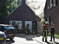 Brandje in kapsalon in Berkel-Enschot
