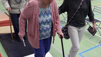 Senioren testen behendigheid