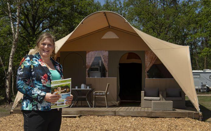 Marieke de Boer, directeur van het internationaal opererende Rent-a-Tent uit Markelo.