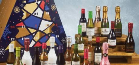 Deze supermarkt telt de dagen tot Kerst af met wijntjes