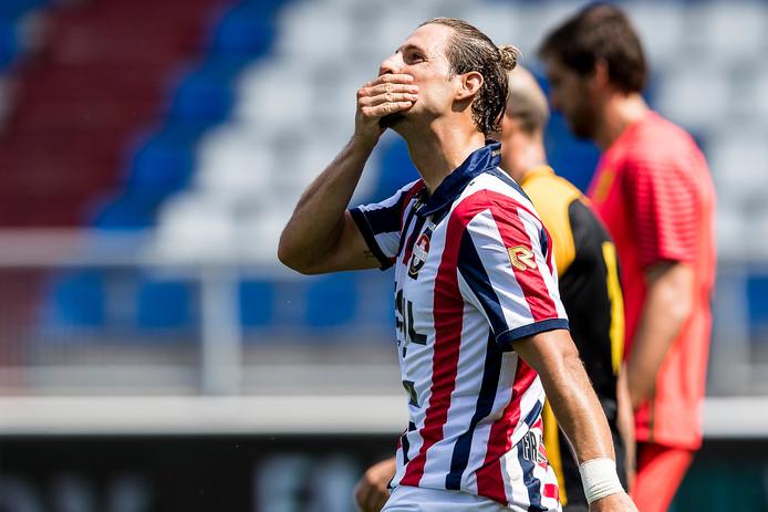 Fran Sol is nog steeds actief voor Willem II.