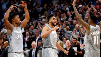 Timberwolves pakken laatste ticket voor play-offs NBA, Westbrook is record rijker