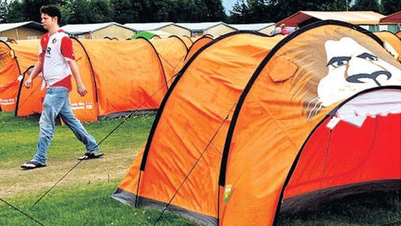 De Oranjecamping in 2012.
