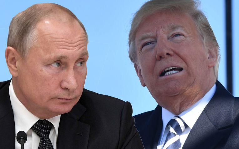"""""""Rusland respecteert het verdrag niet"""", zegt Trump. """"We gaan het dus beëindigen."""""""