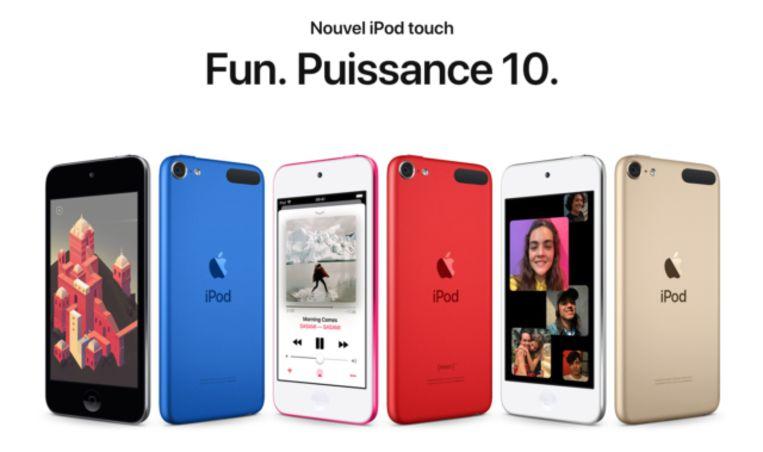 Apple lance un nouvel iPod Touch, quatre ans après la sortie de son dernier modèle.